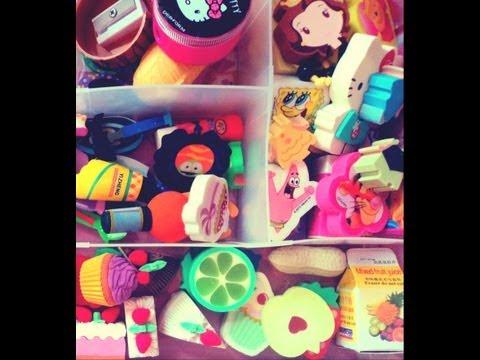 Mi Colección De Gomas De Borrar♥