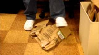 Brutal Box Kill in Converse Chuck Taylor [Very Raw]