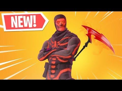 The NEW RED Skull Trooper in Fortnite...
