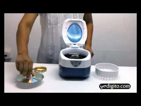 Ultrasonic Cleaner from YoDigito.com - Cleans Jewellery. Watches. CDs and more