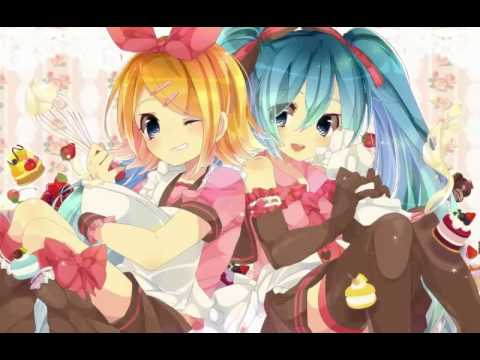 【Hatsune Miku and Kagamine Rin Append】 - Electric Angel 【Vocaloid 2】