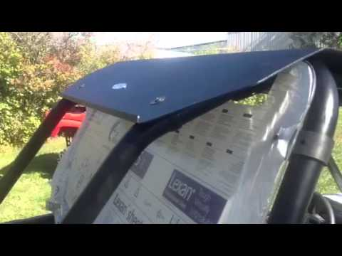 Ranger Xp 1000 >> RZR XP1000 Aluminum top from Extreme Metal Products - YouTube