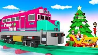 Trains For Kids - Thomas The Train - Choo Choo Train - Toy Factory - Train Kids - Videos For Kids