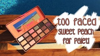 İnceleme | Too Faced - Sweet Peach Far Paleti