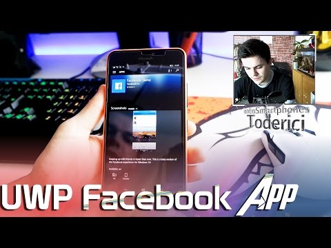 New UWP Facebook App for Windows 10 Mobile and how to get it