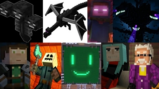 Defeats of my Favorite Minecraft Villains