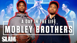5-Star Bros Isaiah & Evan Mobley OWN California ☀️ | SLAM Day in the Life