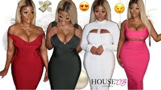 CURVY HOUSE OF CB HAUL | SEXY PARTY OUTFITS TRY ON HAUL