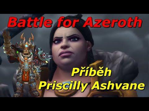 WoW Lore - Příběh Priscilly Ashvane CzSk