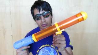 How To Make A Homemade Water Gun With PVC Tubes