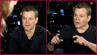 Matt Damon on how he hates dieting and always gains 20 pounds after playing Jason Bourne.