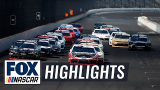 2019 Indiana 250 at the Brickyard | NASCAR on FOX HIGHLIGHTS
