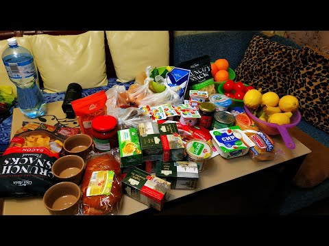 Заготовка еды для семьи, пока я буду в больнице//Меню на неделю