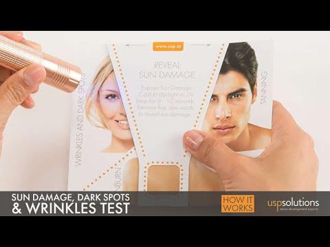 USP Solutions Sun Damage CARD -  UV Awareness