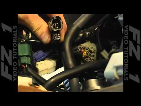 FZ1 Video Tutorials - PC3. Airbox Mod and AIS Blocking