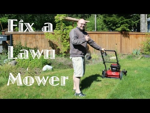 Fixing a Lawn Mower That Won't Start
