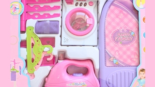 Baby Doll Pink Laundry set Washing and Ironing||TiaTia