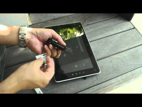 Toshiba AS100 10.1-Inch Android 2.2 Tablet Video Review
