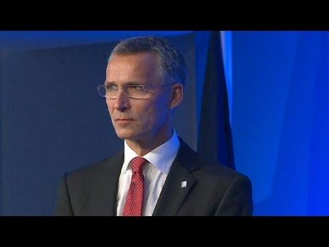 Stoltenberg ready for NATO top job as Rasmussen bids farewell