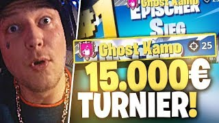 Das 15.000€ Turnier in Fortnite | SpontanaBlack