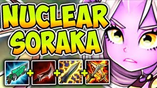 NUCLEAR ONE-SHOT SORAKA MID! THE MOST BROKEN GOD-TIER ASSASSIN! League of Legends