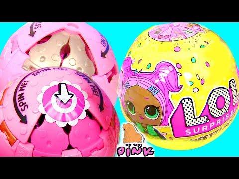 LOL SURPRISE #КУКЛЫ ЛОЛ 3 СЕРИИ CONFETTI POP НОВИНКА! Видео для Детей | My Toys Pink #ad
