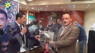 حملة كمل يا ريس تكرم أحمد خليفة مدير تحرير وكالة أنباء الشرق الأوسط