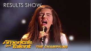 All Champions Performance: Angelina Jordan, Tyler Butler-Figueroa and Kseniya Simonova