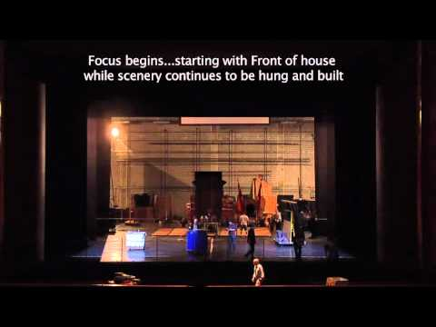 Load-In Time Lapse for Stanton Welch's Cinderella