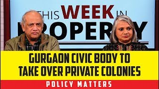 Gurgaon civic body to take over private colonies