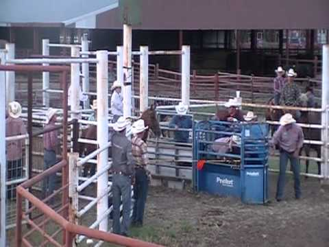 Cassie Johnson Breakaway Roping at Fredonia, KS.