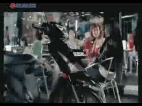 FANDI ZIE ON SUZUKI NIGHT RIDER.flv Video