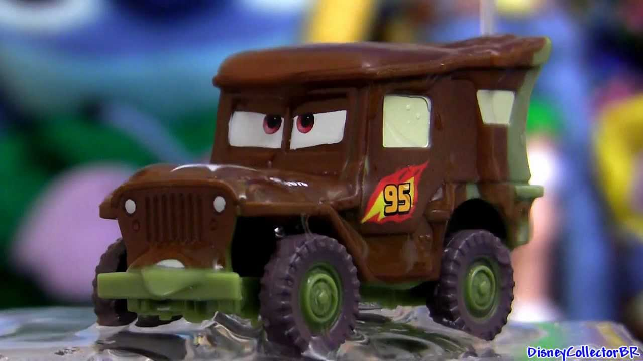Cars Color Changers: Stealth Sarge Color Changers Cars 2 From Disney Pixar
