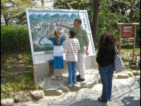 Kyoto sightseeing of the May family No 1