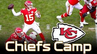 Chiefs Patrick Mahomes opens Training Camp - Q&A | Kansas City Chiefs News 2019 NFL