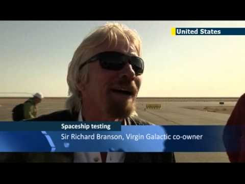 Richard Branson eyes outer space: Virgin Galactic successfully tests spaceship