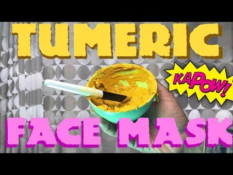 TUMERIC FACE MASK (with TEA TREE OIL!)