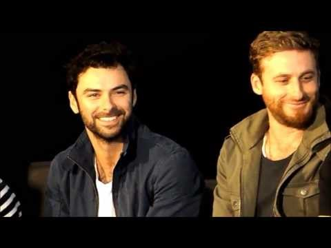 Aidan Turner & Dean O'Gorman - Wellington Armageddon Expo 2013 [HOBBIT PANEL]