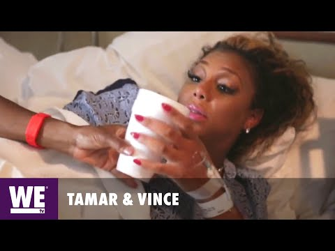 Tamar & Vince | Deleted Scene: Thirsty, Hungry, & In Labor | WE tv