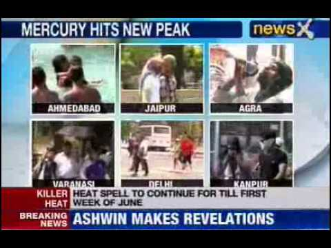 Delhi records 46 degrees Celsius