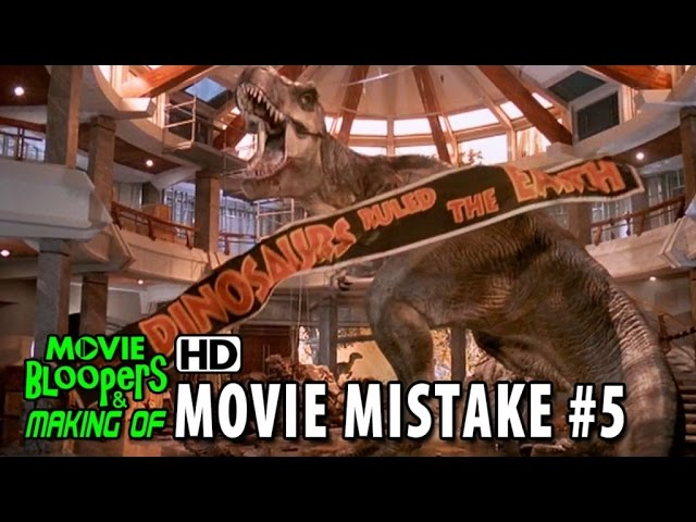 Jurassic Park (1993) movie mistake #5