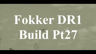 DW Hobby Fokker DR1 build Pt27 RC Model Geeks