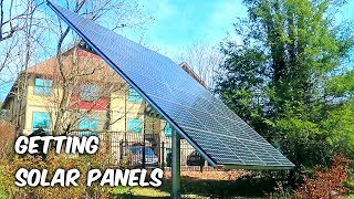 We Are Getting Solar Panels!