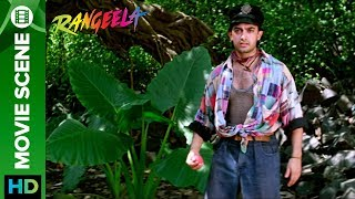 Fight over cricket on set Rangeela | Aamir Khan & Urmila Matondkar