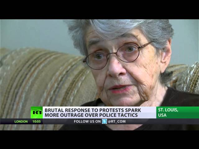 Holocaust survivor arrested in Ferguson: 'African-Americans live like under Nazi regime'