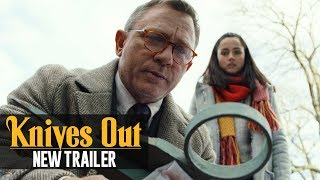 Knives Out (2019) New Trailer – Daniel Craig, Chris Evans, Ana de Armas