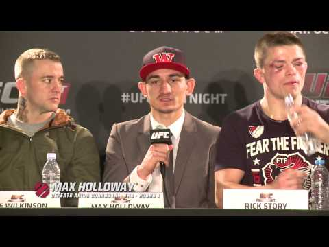 Fight Night Stockholm Postfight Press Conference Highlights