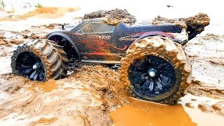 RC Mud Trucks Racing, Jumping 4x4 — JLB Racing CHEETAH and VRX Racing RH1045 — RC Extreme Pictures