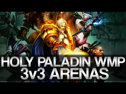 WMP 3v3 Action from Holy Paladin POV with Zuzah