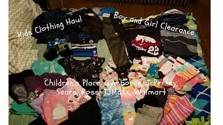 Clearance Kids Clothing Haul - Children's Place, Gymboree, Sears, JcPenney, Walmart, etc